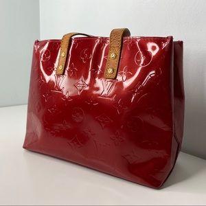 Louis Vuitton Bags - Seductive Red Louis Vuitton Vernis Reade PM Bag